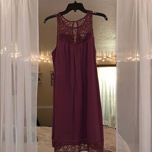 Burgundy Dress Size Medium